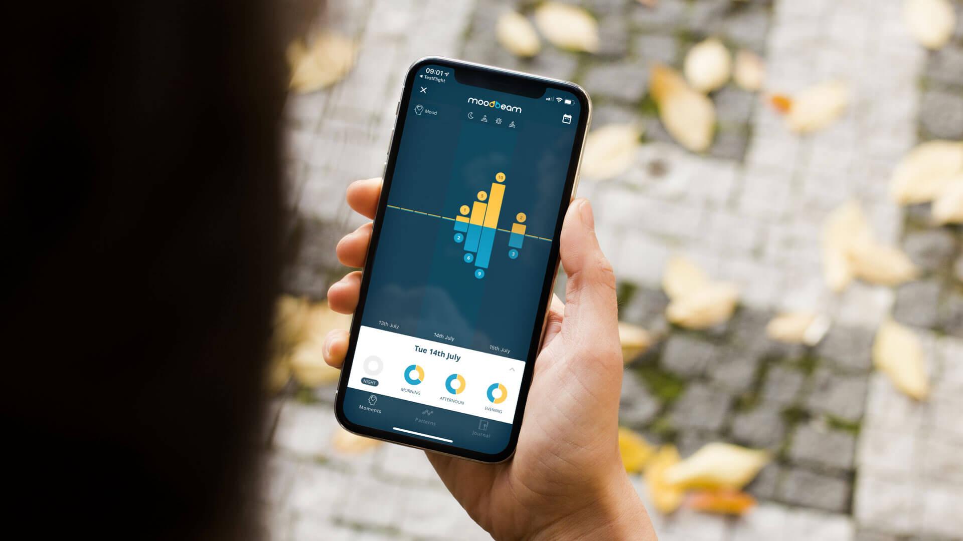 Moodbeam Smart App
